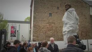 / تمثال كارل ماركس الأب المؤسس للشيوعية في مسقط رأسه في ترير