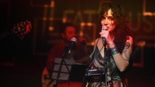 المغنية الفلسطينية ربى شمشوم
