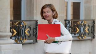 وزيرة الجيوش الفرنسية فلورنس بارلي/