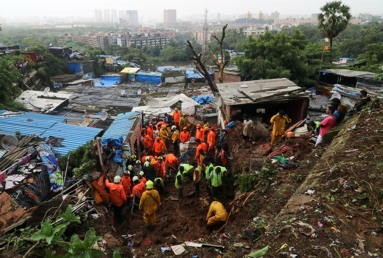 فيضانات مومباي