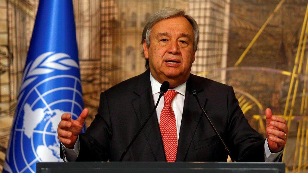 الامين العام للامم المتحدة