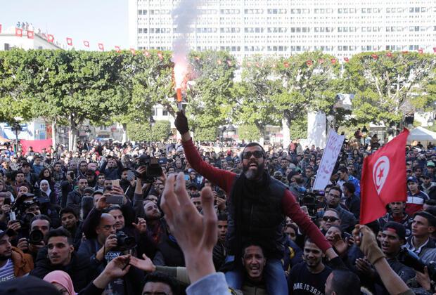 احتفال التونسيين - أرشيف-