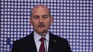 وزير الداخلية التركي في أنقرة
