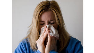 الإصابة بالأنفلونزا