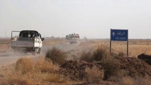 مدخل الرقة الشمالي، سوريا (2016-11-16)