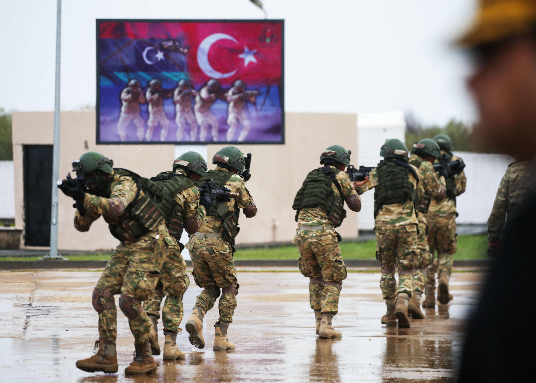 تدريبات ليبية - تركية مشتركة. 21/11/2020