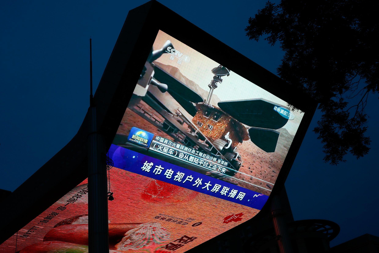 الصور الأولى للربوت الصيني في المريخ