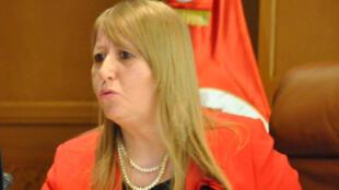 وزيرة العدل التونسية ثريا الجريبي