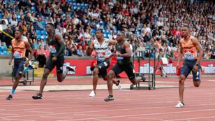 سباق الـ 100 متر في ألعاب القوى