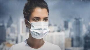 ملصق المؤتمر الدولي الافتراضي حول الصحة والبيئة في البلدان العربية
