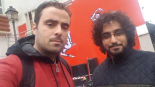 الفنان اليمني مراد رفقة سليم صعب