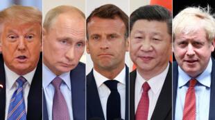 قادة الدول الخمس دائمة العضوية في مجلس الأمن الدولي