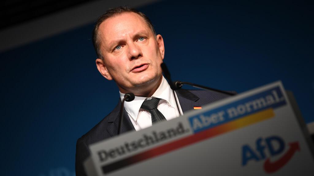 تينو شروبالا النائب عن حزب البديل من أجل ألمانيا اليميني المتطرف