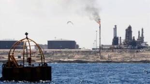 مرفأ سدرة النفطي في شرق ليبيا