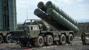 نظام صواريخ أرض جو إس-400