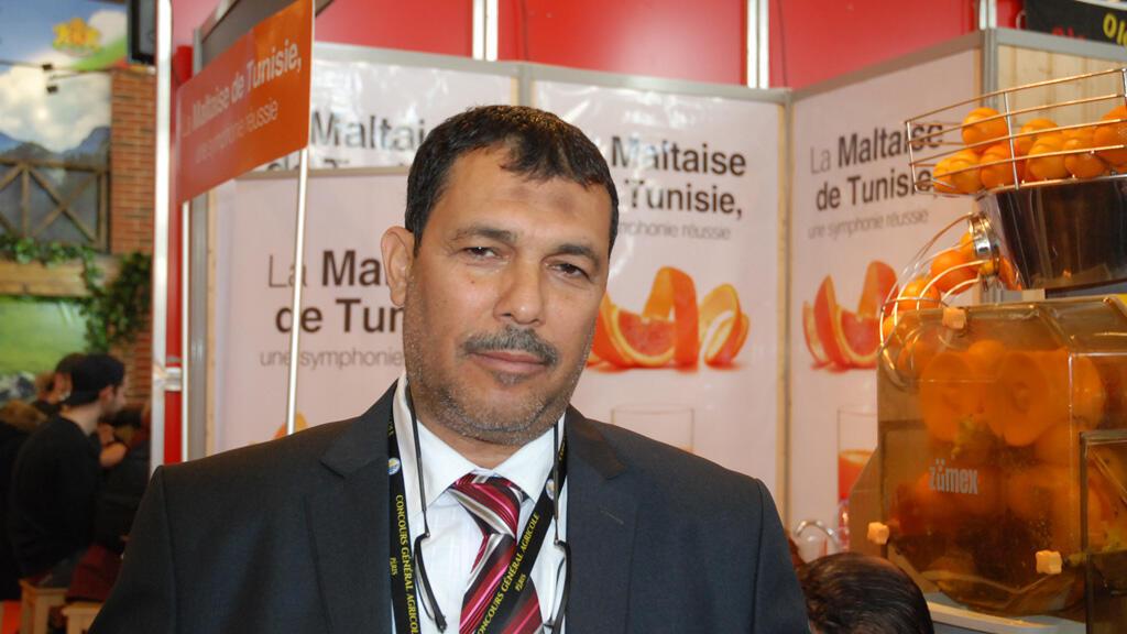 عماد الباي، رئيس الاتحاد الجهوي للفلاحة والصيد البحري بنابل  (مونت كارلو الدولية)