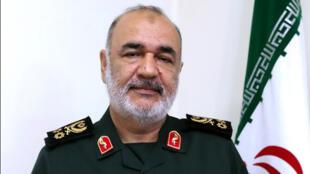 قائد الحرس الثوري الإيراني الجنرال حسين سلامي-