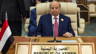الرئيس اليمني عبد ربه منصورهادي