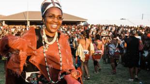 أرملة ملك الزولو وولية العهد، الملكة شييوي مانتفومبي دلاميني زولو