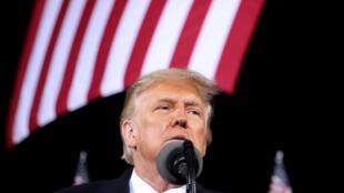 الرئيس الأمريكي دونالد ترامب في ولاية جورجيا