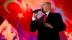 الرئيس التركي رجب طيب اردوغان-