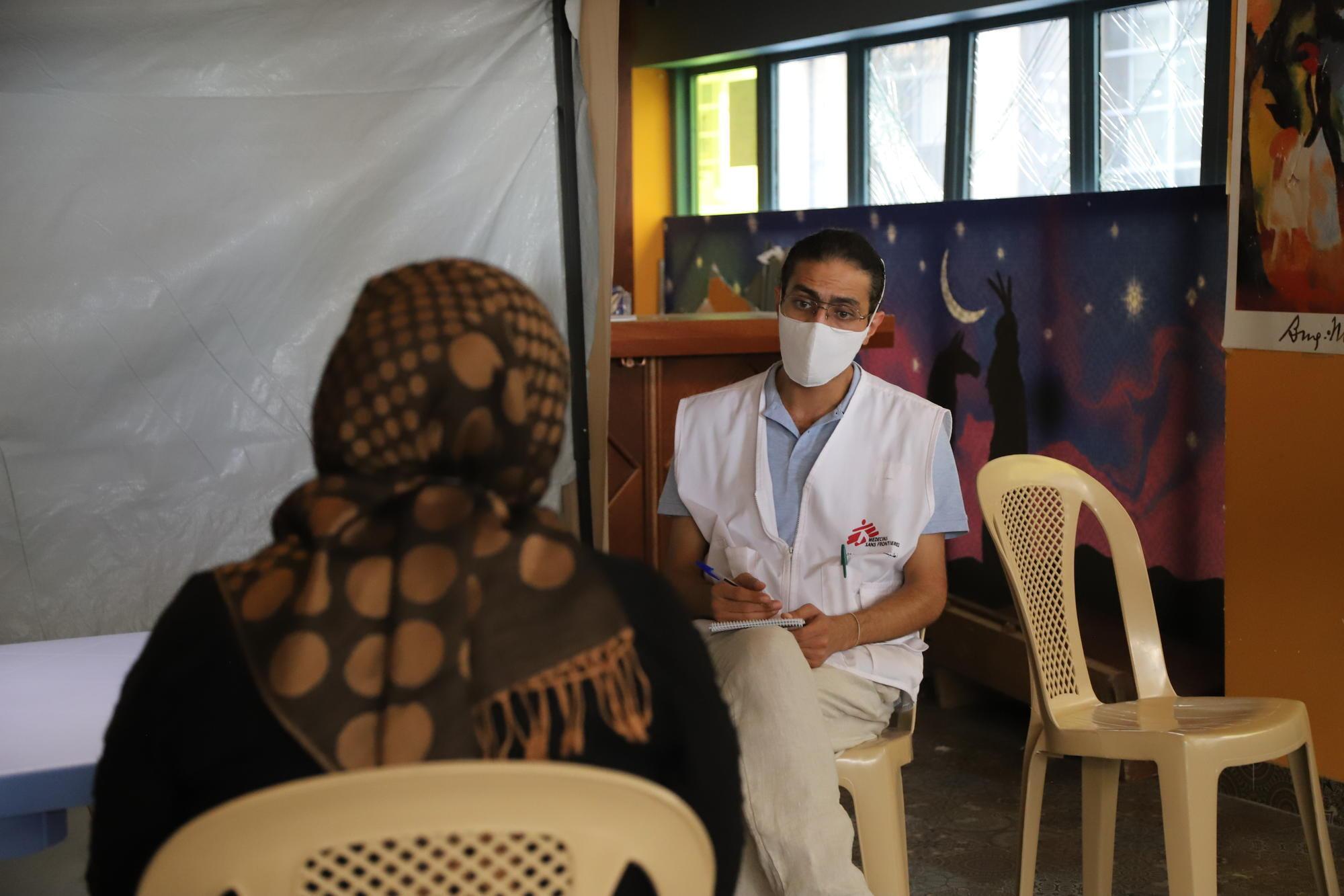 Explosion Beyrouth et santé psychique