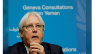 مبعوث الامم المتحدة الى اليمن مارتن جريفيث