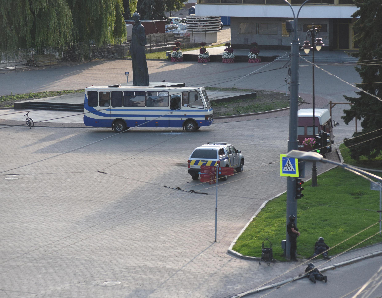 bus otage ukraine