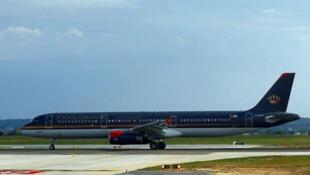 طائرة الخطوط الجوية الأردنية