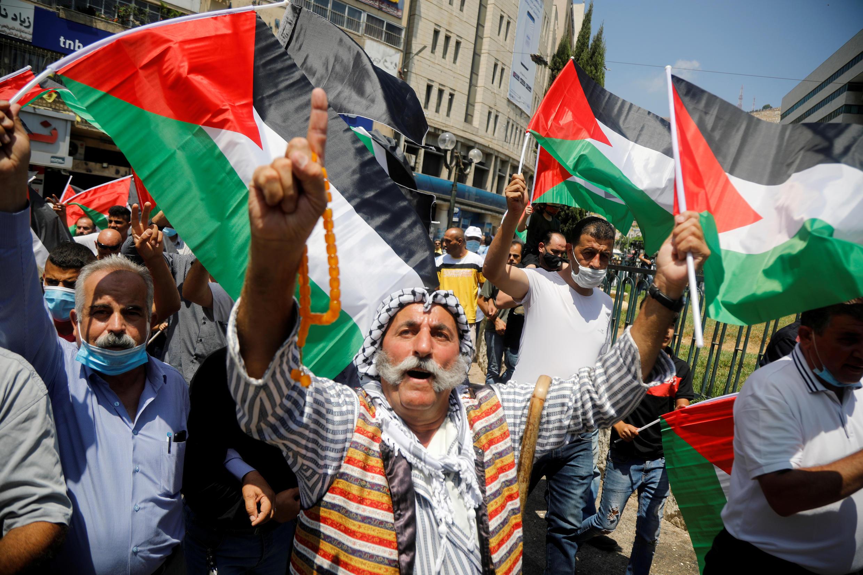 manif_contre_accord_emirats_israel_palestiniens_nablus