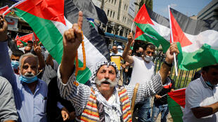manif_contre_accord_emirats_israel_palestiniens_nablus