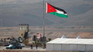 الحدود الأردنية الإسرائيلية في منطقة الباقورة