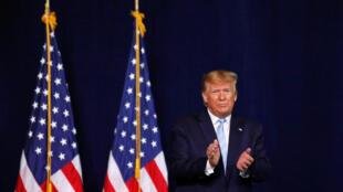 دونالد ترامب الرئيس الأمريكي