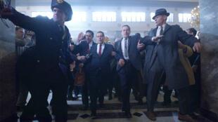 لقطة من فيلم The Irishman