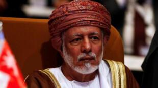 يوسف بن علوي بن عبد الله الوزير المسؤول عن الشؤون الخارجية في سلطنة عمان