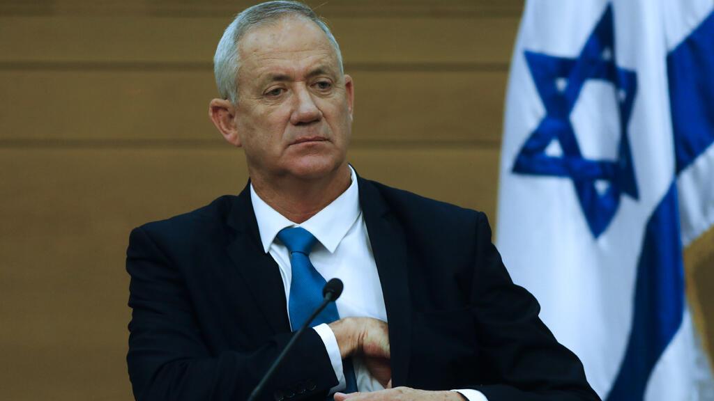 بيني غانتس وزير الدفاع الإسرائيلي
