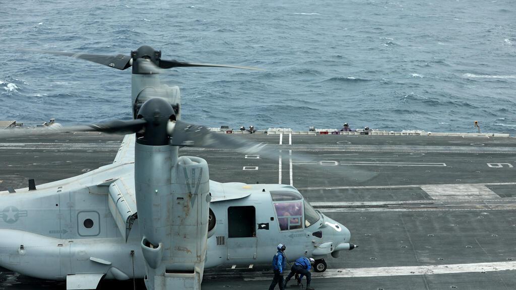 قوات بحرية أمريكية في مياه الخليج
