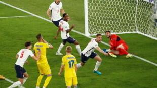 إنكلترا تكتسح أوكرانيا برباعية نظيفة وتبلغ نصف نهائي كأس أوروبا