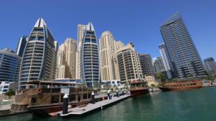 مشهد لمدينة دبي