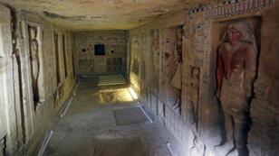 صورة المقبرة التي تم إكتشافها