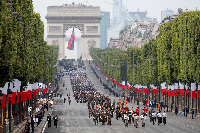 احتفالات العيد الوطني الفرنسي