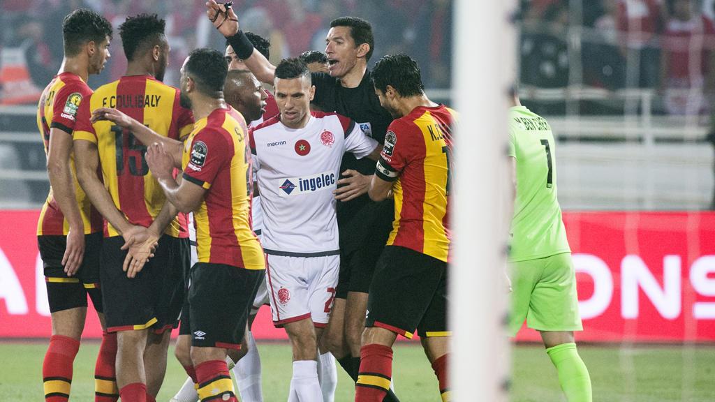 صورة من مبارة الترجي التونسي والوداد البيضاوي المغربي