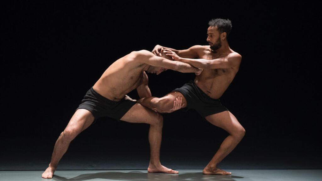لقطة أخرى من عرض مصممة الرقص هالة فطومي