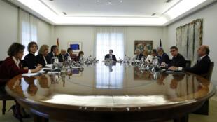 ماريانو راخوي يترأس اجتماعا حكوميا