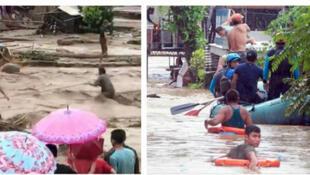 صور مابعد العاصفة في الفليبين