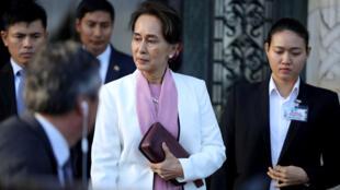 زعيمة ميانمار أونج سان سو كي