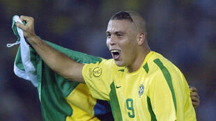 رونالدو خلال كأس العالم 2002