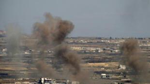 ضربات جوية سابقة لإسرائيل على الأراضي السورية