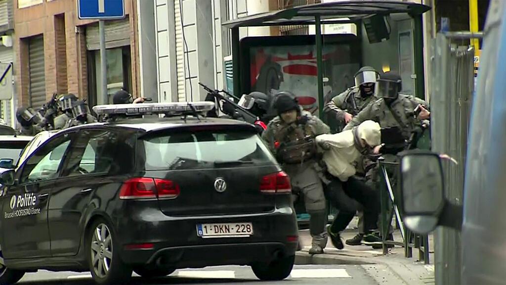 الشرطة البلجيكية تقبض على صلاح عبد السلام