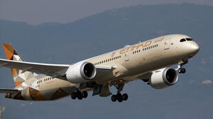 طائرة تابعة لشركة الاتحاد الإماراتية